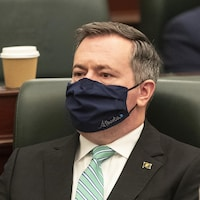 Le premier ministre albertain Jason Kenney à l'Assemblée législative