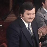 Une photo de Jean Garon, ministre de l'Agriculture de 1976 à 1985.