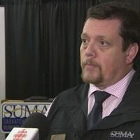 Jean-Marc Nadeau, directeur général des municipalités de la Saskatchewan (Archives)