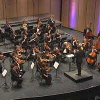 L'Orchestre symphonique du Saguenay-Lac-Saint-Jean sur scène