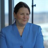 La médecin hygiéniste en chef du Nouveau-Brunswick, Jennifer Russell, en mars 2021.