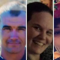 Photo de la famille Gagnon dont la police est sans nouvelle à la suite de la découverte de quatre cadavres le 20 avril, dans une voiture incendiée au sud de Timmins, en Ontario.