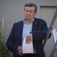 Le maire de Toronto, John Tory