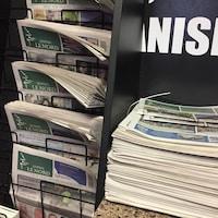 Plusieurs journaux.