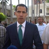 Juan Guaido, président autoproclamé du Venezuela, a accordé une entrevue exclusive à notre envoyé spécial Jean-Michel Leprince.