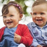 Des jumeaux.