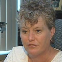Le visage de Heather Grant-Jury.