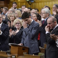 Le premier ministre Justin Trudeau à la Chambre des communes