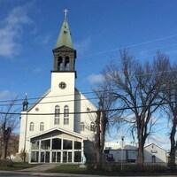Une église.