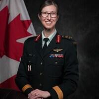 La brigadière-générale Krista Brodie.
