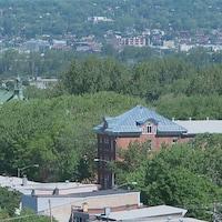 La couverture végétale (ou l'indice de canopée) dans une ville comme Montréal ou Québec devrait idéalement atteindre 40½ de son territoire.