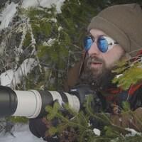 Jean-Simon Bégin est photographe animalier et amoureux du froid.