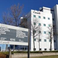 Le Centre scientifique canadien de santé humaine et animale, situé à Winnipeg