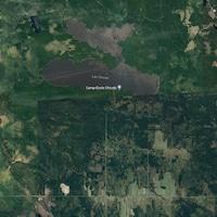 L'avion s'est écrasé nord du lac Chicobi, en Abitibi.
