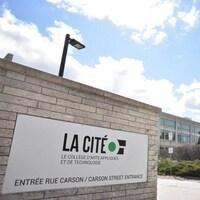 Vue extérieure du Collège La Cité à Ottawa