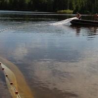 L'un des lacs de la Région des lacs expérimentaux