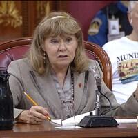 L'ex-sénatrice Hervieux-Payette en commission parlementaire