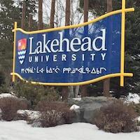 L'université Lakehead à Thunder Bay.