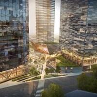 La configuration des édifices à été complètement revue dans le nouveau concept.