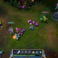 Capture d'écran du jeu League of Legends.