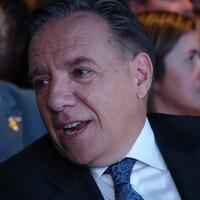 Le chef de la CAQ François Legault