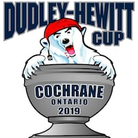 Le logo de la Coupe Dudley-Hewitt 2019.