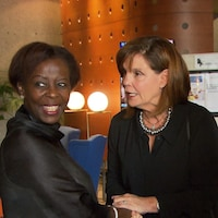 Louise Mushikiwabo, Liza Frulla et Nadine Girault