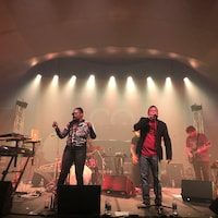 Mackjoffat a partagé la scène du chapiteau avec Kid Koala, jeudi, au Festijazz de Rimouski.