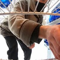 Une main se glisse dans un réfrigérateur.