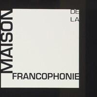 Le logo de la Maison de la Francophonie.