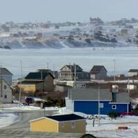 Les Îles-de-la-Madeleine en hiver.