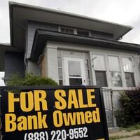 Une maisons, saisie par la banque, mise en vente.