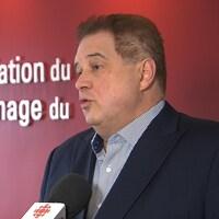 Marc Cadieux, PDG, Association du camionnage du Québec