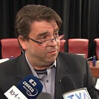Le conseiller du district de Masson-Angers, Marc Carrière.