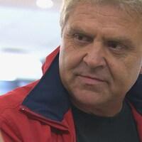 Marc Pettersen en entrevue.
