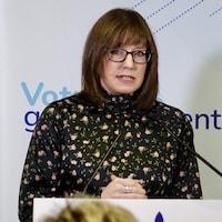 La ministre responsable du Bas-Saint-Laurent, Marie-Eve Proulx.
