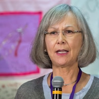 La commissaire en chef de l'ENFFADA, Marion Buller.