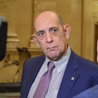 M. Rotrand répondant aux questions de CTV.