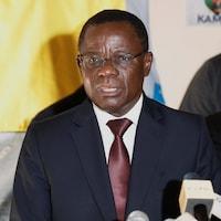 L'opposant camerounais Maurice Kamto.