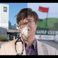 Un homme partage sa vie entre le terrain de golf et l'hôpital de de Timmins.