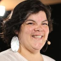 Melissa Mollen Dupuis souriant.