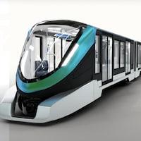 Esquisse du projet de métro léger souterrain de Québec 21.