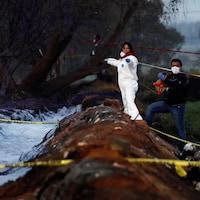 L'incendie s'est produit dans la localité de Tlahuelilpan, dans l'État d'Hidalgo, à environ 100 km au nord de Mexico.
