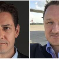 Michael Kovrig et Michael Spavor.