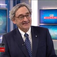 Michael Sabia, président et chef de la direction de la Caisse de dépôt et placement du Québec, en entrevue à RDI Économie le 21 février 2018