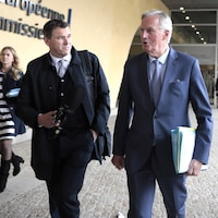 Le négociateur européen Michel Barnier à Bruxelles.