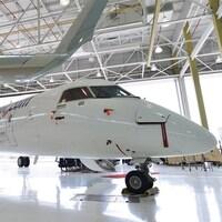 Un appareil Q400 de Bombardier