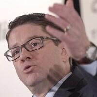Le PDG d'Hydro-Québec, Éric Martel