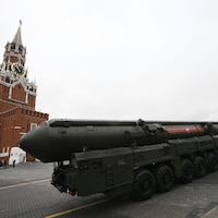 Topol M, un missile russe intercontinental.