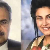 Mohammad et Zohal Niazi.